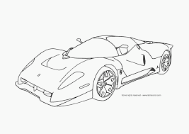 amazing coloring pages cars flames color 5858