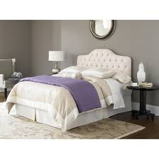 Upholstered White Headboard by Fashion Bed Group Versailles Upholstered Headboard Hayneedle