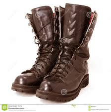 military style boots stock photos image 8402853 military style
