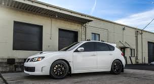 subaru wrx hatch white shop projects boost controlled performance