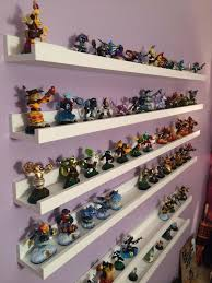 Ribba Picture Ledge Skylanders Ika Shelves Google Search Kids Room Pinterest