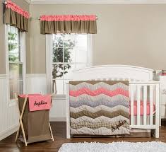 nursery beddings teal and gray chevron crib bedding as well as