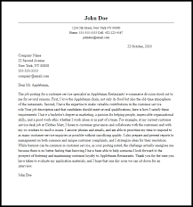 customer relations cover letter 28 images describe background