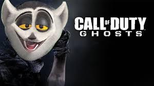 Call Duty Ghosts Halloween Costumes Król Julian Gra Call Duty Ghosts