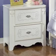 signature design by ashley exquisite 2 drawer nightstand del sol