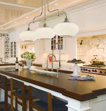 Farmhouse Kitchen Island Lighting Hudson Valley 9813 On Canton Nickel Island Light Farmhouse