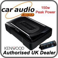 kenwood dealer kenwood ksc sw11 compact under seat 150w active amplified powered