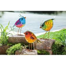 glass lawn ornaments you ll wayfair ca