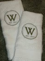 wedding gift towels mr mrs towels with last name mr and mrs towels wedding
