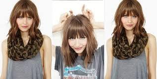 comment se couper les cheveux soi meme 30 tutoriels faciles pour bien coiffer vos cheveux mi longs