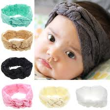 tie headbands 1 x headband lace tie headband top knot headband cross knot