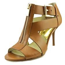 michael michael kors anya mid women us 6 5 brown sandals jet com