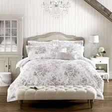 white and gray duvet cover holly willoughby ruby grey 100 cotton