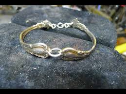 make silver bracelet images How to make a bangle bracelet from used silver spoons no jpg