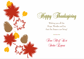 happy thanksgiving from all of us at storkie storkie