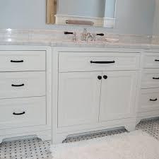 hand made wide single bathroom vanity by john samuel custom