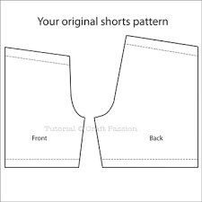 paper bag toddler shorts pattern altering sewing pattern shorts length craft passion