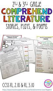 2nd Reading Comprehension Worksheets 485 Best 2nd U0026 3rd Grade Reading Comprehension Images On Pinterest