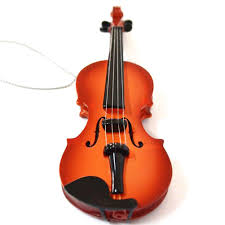 Christmas Gifts For Music Lovers Giftgarden Violin Electric Guitar Ornament Hanging Decoration