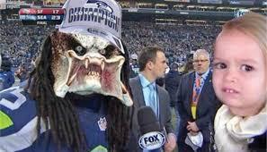 Sherman Meme - meme portraying sherman as predator