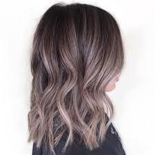 chocolate hair with platinum highlight pictures chocolate hair with sliver highlights pretty designs