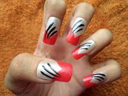 pretty nail art designs additionally short nail designs black and