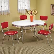 Used Dining Room Set For Sale Chairs Inspiring Red Leather Dining Room Chairs Red Faux Leather