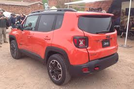 back of a jeep 2015 jeep renegade north american debut at moab easter safari