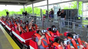 How Old To Work At Six Flags First Riders On The New Revolution At Six Flags St Louis Hd Off