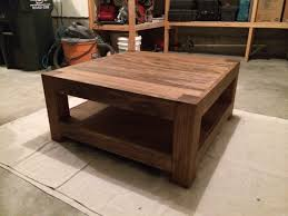 ana white square coffee table diy projects