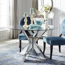 X Table Base Simon Mirrored X Dining Table Base Pier 1 Imports