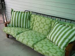 Diy Patio Cushions I Had A Futon Frame That I Wasn U0027t Using