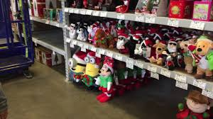Blow Up Christmas Decorations At Lowes by Lowes Store 2017 Christmas Merchandise Disney Blow Molds Youtube