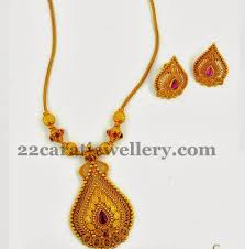 gold necklace simple design images Joy alukkas simple necklace jewellery designs jpg