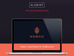company powerpoint template free corporate powerpoint template
