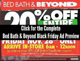 Bed Barh And Beyond Coupons Bed Bath U0026 Beyond Black Friday Ad 2014