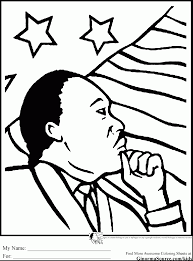 Extraordinary Martin Luther King Coloring Pages Dokardokarz Net Mlk Coloring Pages