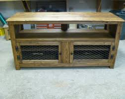 Shabby Chic Credenza by Rustic Pallet Tv Stand Cabinet Sideboard Reclaimed Wood
