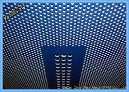 Oval Hole Powder Coated Decorative Metal Sheets With Patterned