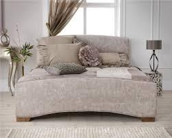 Double Bed Frame Design Serene Anastasia Upholstered Bed Frame Double Bed Frame Only