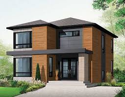 Modern Elevation Plan 21998dr Stately Modern Modern House And Exterior