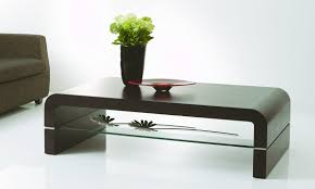 modern sofa table iohomes kelsi modern twisting glass top sofa