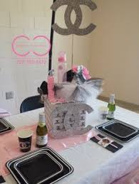 Angel Decorations For Baby Shower 19 Best Baby Shower Estilo Chanel Images On Pinterest Coco