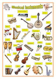 49 free esl instruments worksheets