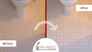 Grout Bathroom Floor Tile - a grout cleaning gave this ceramic bathroom floor in greenwich ct