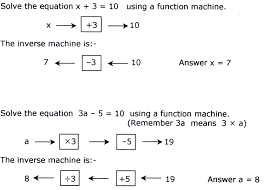 algebra part two ks 3 revision notes 5 2 solving equations using