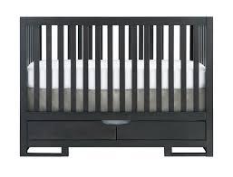 Gray Convertible Crib by Karla Dubois Oslo Crib In Slate Kids Furniture In Los Angeles