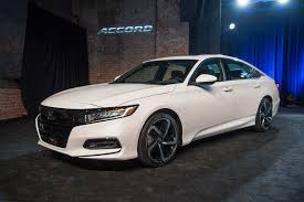 2018 honda accord debuts with turbo engines 10 speed transmission