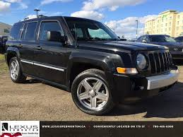 jeep models 2008 pre owned black 2008 jeep patriot 4wd limited in depth review