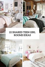 Shared Bedroom Ideas by 22 Chic And Inviting Shared Teen Rooms Ideas Digsdigs